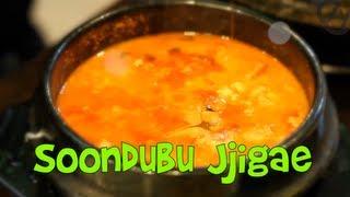 Soondubu Jjigae aka Soft Tofu Stew