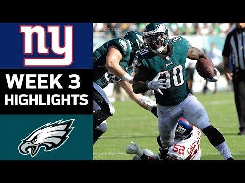Video: Giants vs. Eagles | NFL Week 3 Game Highlights