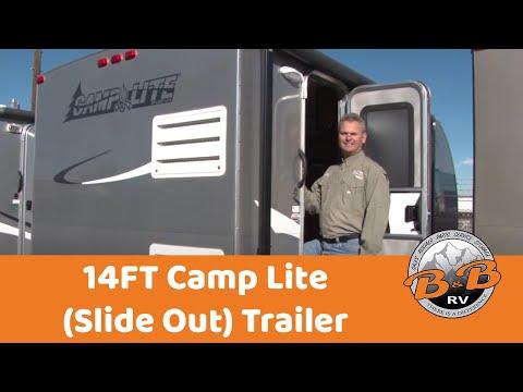 14FT Camp Lite (Slide Out) Trailer