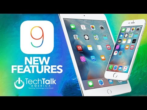 IOS 9 NEW FEATURES | IPHONE VERSION