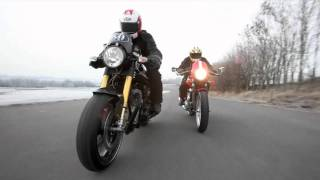10. Norton Cafe Racer SP vs. Triumph Thruxton