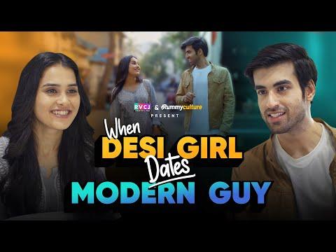 When Desi Girl Dates Modern Guy | Ft. Anushka Sharma & Abhishek Kapoor | RVCJ
