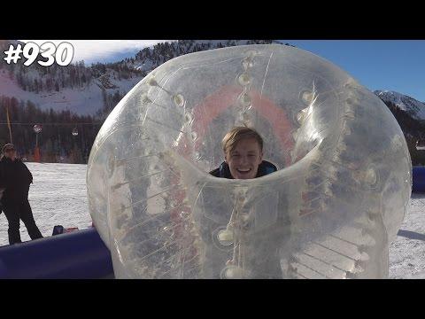 VOETBAL SNEEUW CHALLENGE! - ENZOKNOL VLOG #930 (видео)