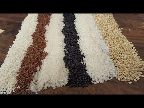 ¿Sabías que hay unas 10.000 variedades de arroz?