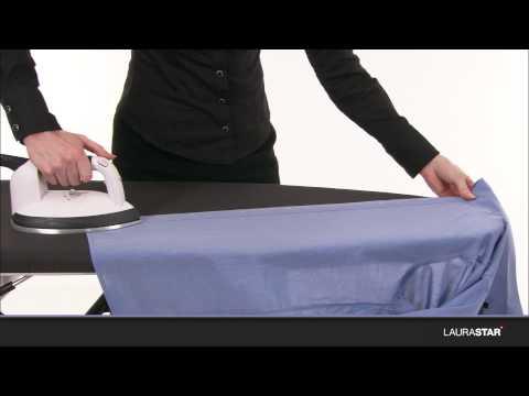 Laurastar - So bügeln Sie Ihr Hemd in nur zwei Minuten