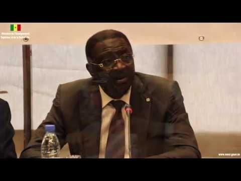 [VIDÉO] Assemblée générale du Cadre de Concertation des Institutions de Recherche du SNRASP - Mot du Dr Pape Abdoulaye SECK
