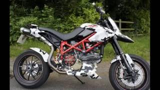 8. Ducati Hypermotard 1100 EVO SP.