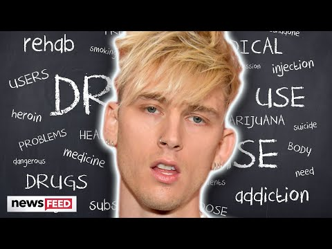 Machine Gun Kelly Opens Up About Seeking Help For Drug Abuse