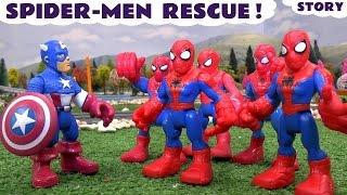 Spider-Men Rescue