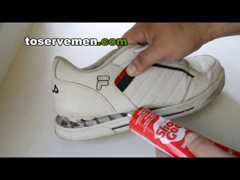 how to repair old shoes