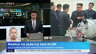 Reakce na jaderný test KLDR