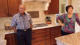 Testimonial & Tour of Complete Kitchen Remodel in city of Orange by APlus
