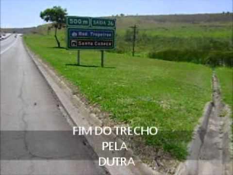 CICLOVIAGEM DE TAUBATE ATE SÃO JOSE DO BARREIRO.wmv