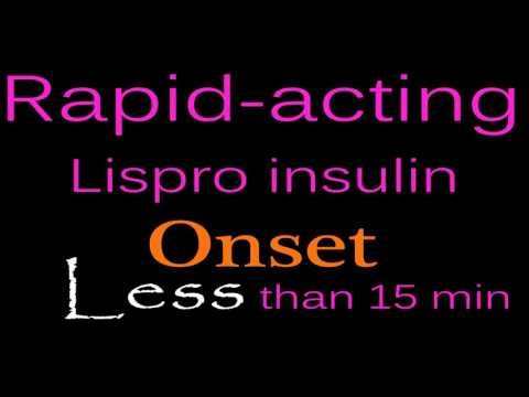 Dumb Way to Remember Insulin ( lispro , regular insulin , nph , glargine lantus)