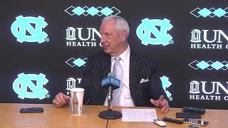 UNC Men's Basketball: Roy Williams Post Duke Press Conference