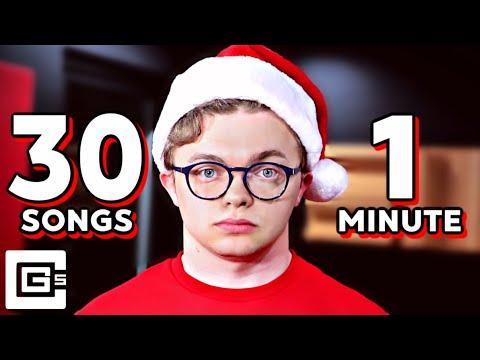 30 Christmas Songs in 1 Minute