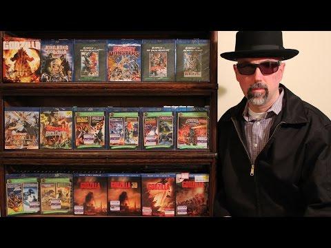Godzilla Blu-rays