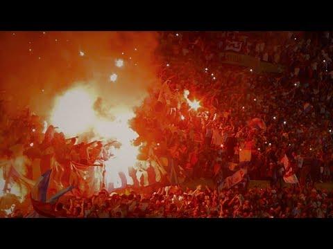 RECIBIMIENTO HINCHADA NACIONAL - El aliento perdiendo 3 a 1 - Supercopa Uruguaya 2018 - La Banda del Parque - Nacional