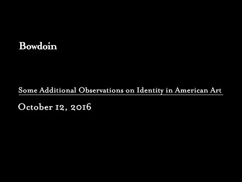 """Some Additional Observations on Identity in American Art"""