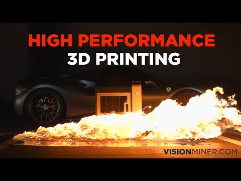 Vision Miner Presents: The Most Affordable High-Temperature Industrial 3D Printer