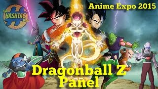 Nonton Dragon Ball Z  Resurrection F Movie Panel  Anime Expo 2015  Film Subtitle Indonesia Streaming Movie Download