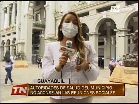 Autoridades de salud del municipio no aconsejan las reuniones sociales