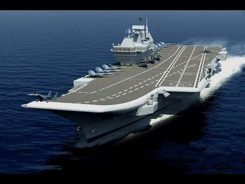 INS Vikrant: India unveils first home-built aircraft carrier