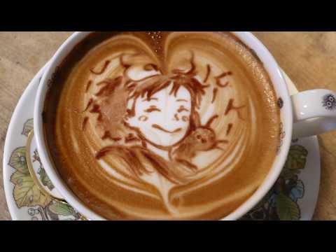 咖啡藝術達人太強大了!這麼美叫人怎麼喝得下去!