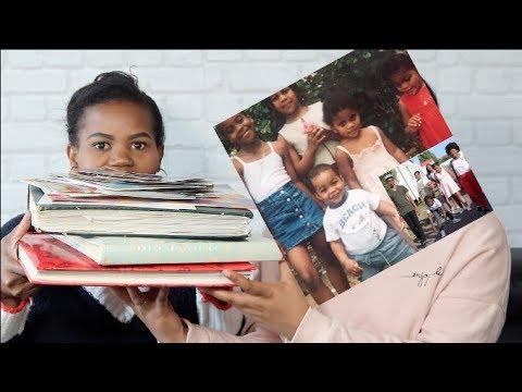 ON REAGIT A NOS ANCIENNES PHOTOS DE FAMILLE #sakinafamily