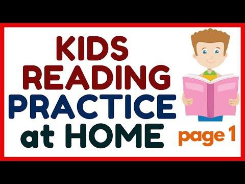 KIDS READING PRACTICE