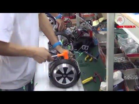 Elektryczna deskorolka YESDZIK V1 Pro Czerwony