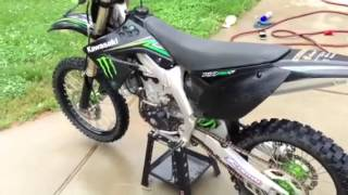 1. 2009 Kawasaki KX450f Monster Energy Edition