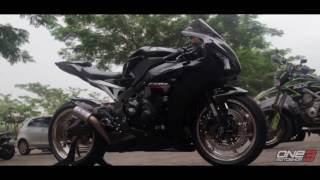 9. PROJECT BIKE ONE3 MOTOSHOP : HONDA CBR1000RR 2012 Andre Lesmana (Bogor)