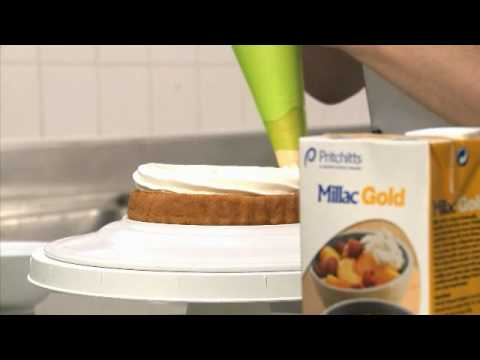 Cake Decorating With Millac Gold