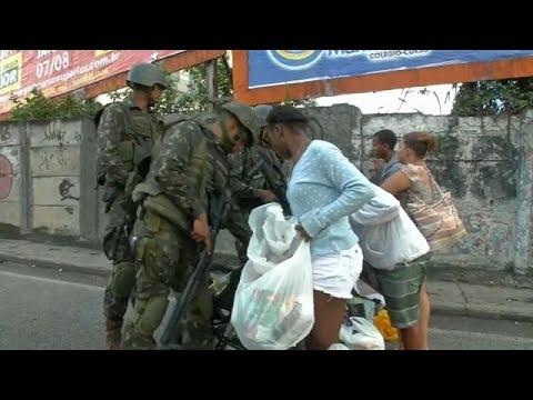 Αστυνομική επιχείρηση στις Φαβέλες του Ρίο – Δύο νεκροί