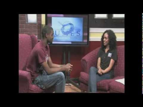 In The Studio - Former Discover UMES Intern Lynette Gilchrist