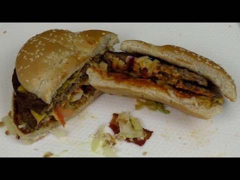 [Eating Video] Steakhouse Beef Classic & Cheese'n Beef Classic [McDoanld's Germany]