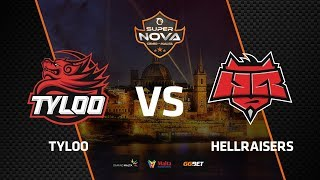 TYLOO vs HellRaisers, map 1 dust2, SuperNova CS:GO Malta