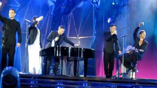 Old hits medley - Take That @ City Of Manchester Stadium, 03 June 2011