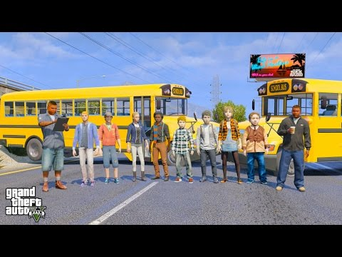 GTA 5 REAL LIFE TEEN MOD #35 EPIC SCHOOL ROAD TRIP!
