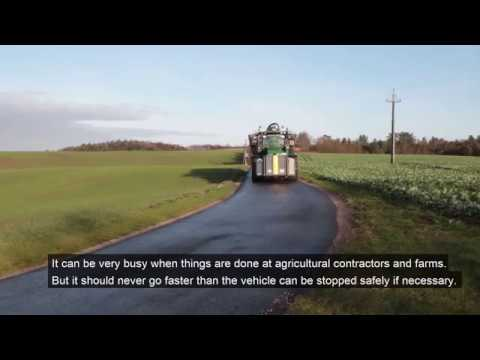 Roller brake test of agricultural vehicles