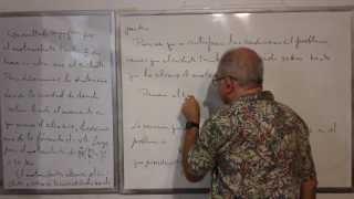Algebra Intermedia - Lección 50 - A (problemas Verbales De Movimiento)