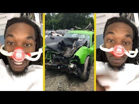 Offset Migos At The Dentist After Car Crash To Fix His Teeth!_Ön is fél a fogorvosnál? De mit csinálnak mások?