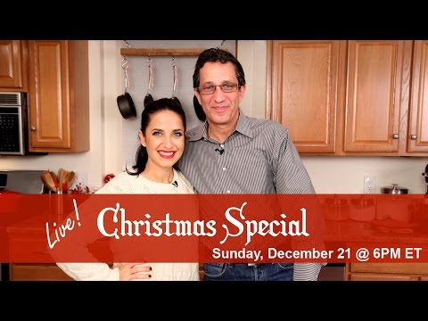 *LIVE* - Don't miss our 2nd Annual Live Streaming Christmas Special Sunday December 21st at 6PM ET! Get your comments in BELOW! See you then!!