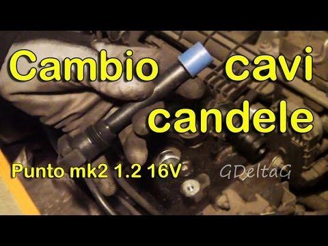 Sostituzione cavi candele auto Fiat Punto mk2 1.2 16V