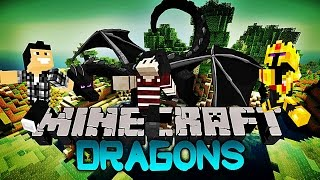 Video Minecraft - DRAGONS ! ( Avec l'AznDarkProduction et Sherlocked ) MP3, 3GP, MP4, WEBM, AVI, FLV Mei 2017