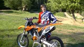 8. Carson Brown Tests the KTM 85 SXS for Motocross Action Magazine