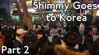 Shimmy Goes to Korea - Part 2 in Seoul