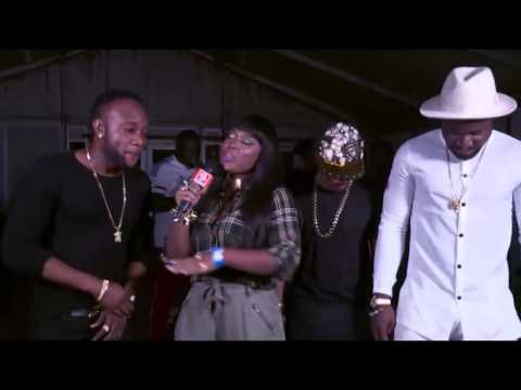 Kcee, Harrysong & Skiibii Performance and Interview at 'Applaudise' Launch