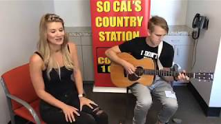 Singer Fiona Culley stopped by Go Country 105 in Los Angeles where she performed